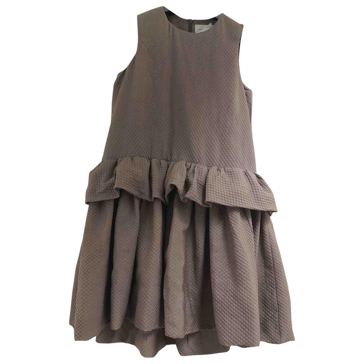 Victoria, Victoria Beckham \N Kleid in Baumwolle - Elasthan