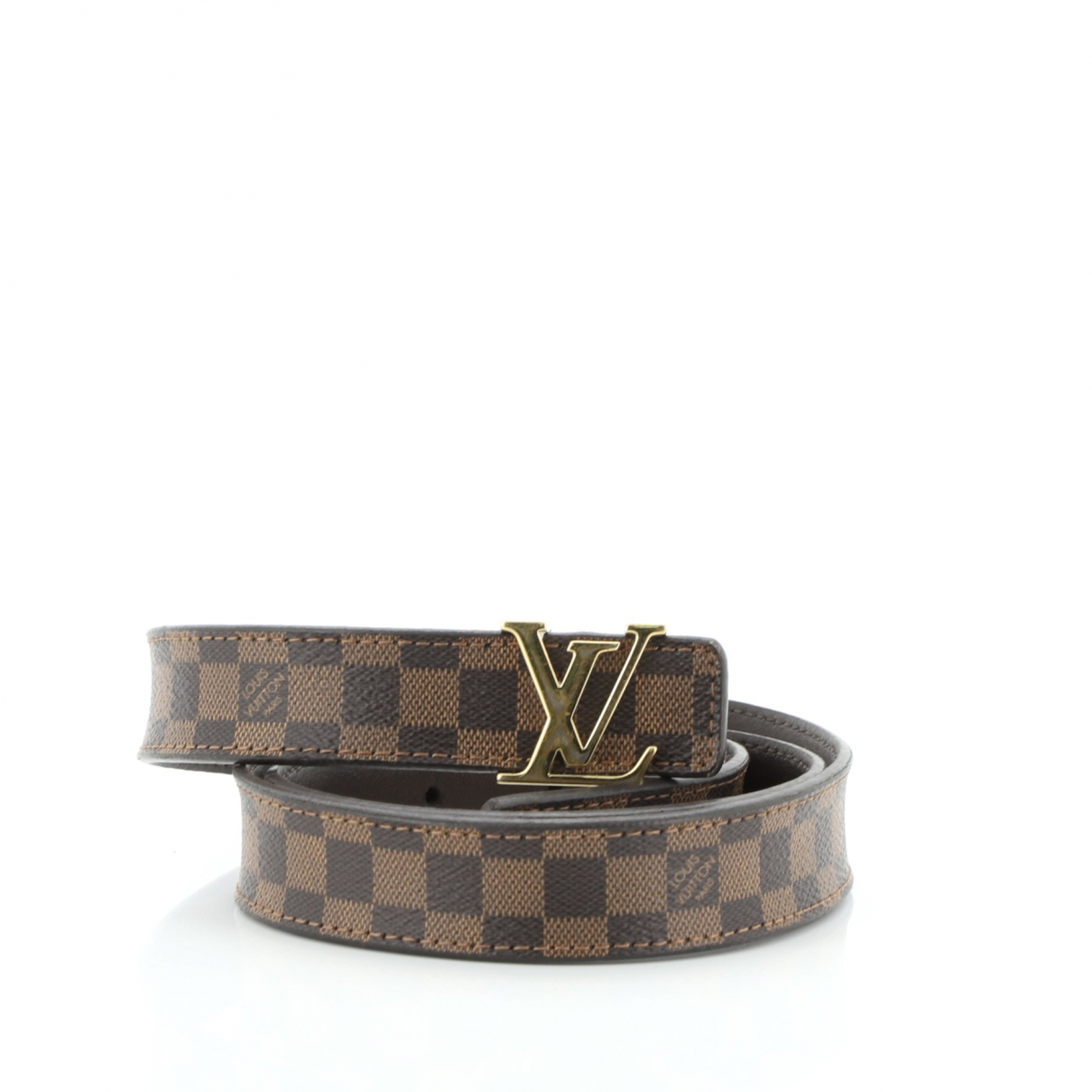 Louis Vuitton \N Guertel in  Braun Leder