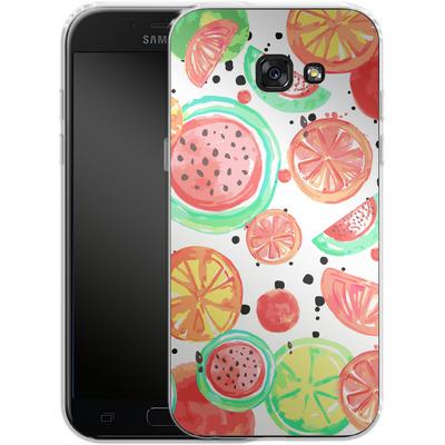 Samsung Galaxy A5 (2017) Silikon Handyhuelle - Fruit Crush von Mukta Lata Barua