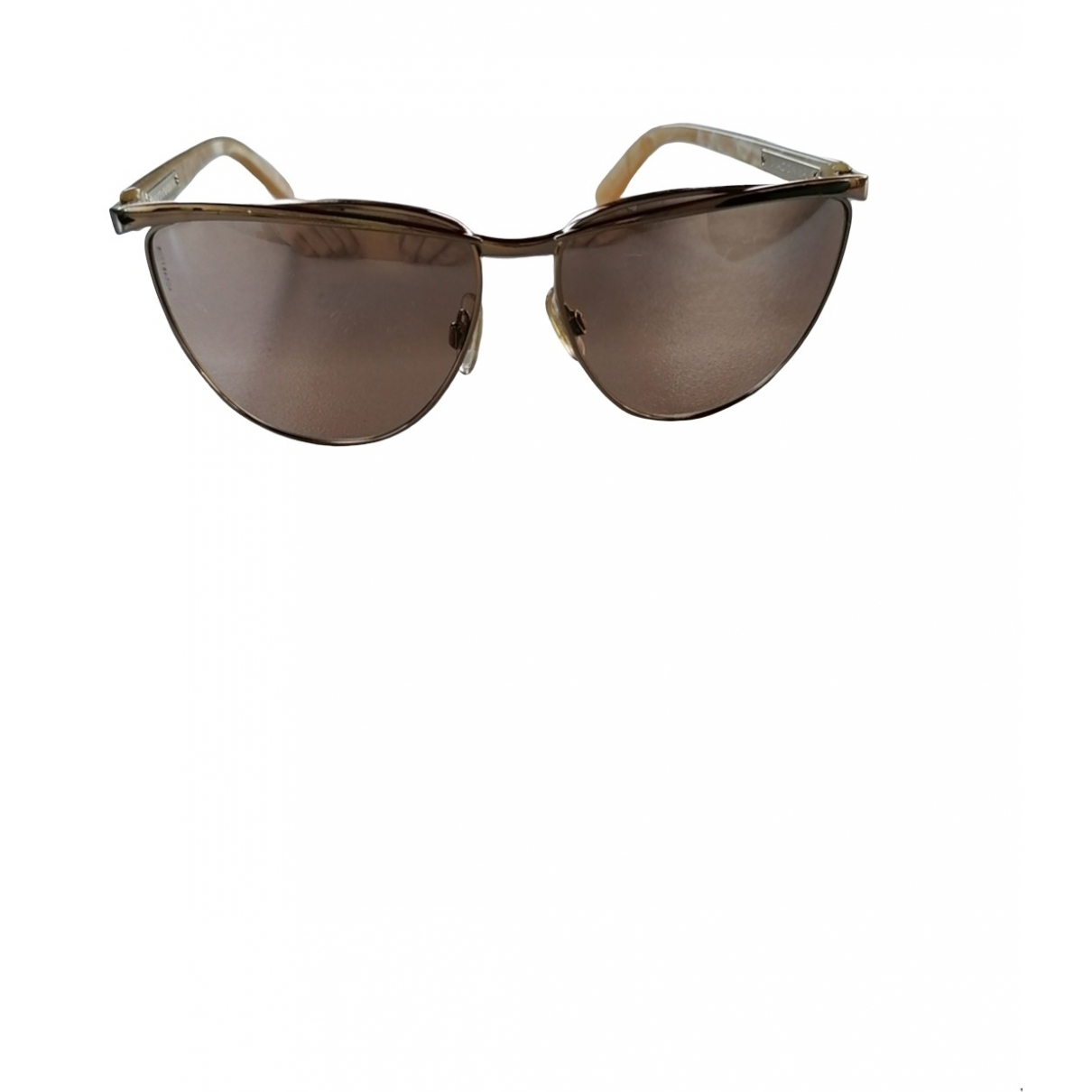 Dolce & Gabbana \N Beige Metal Sunglasses for Women \N