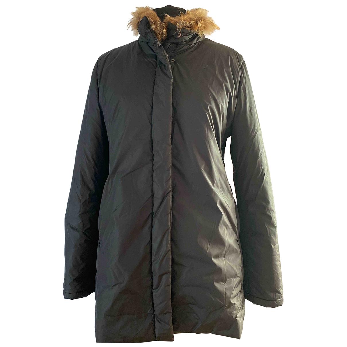 Burberry \N Khaki Faux fur coat for Women 46 IT