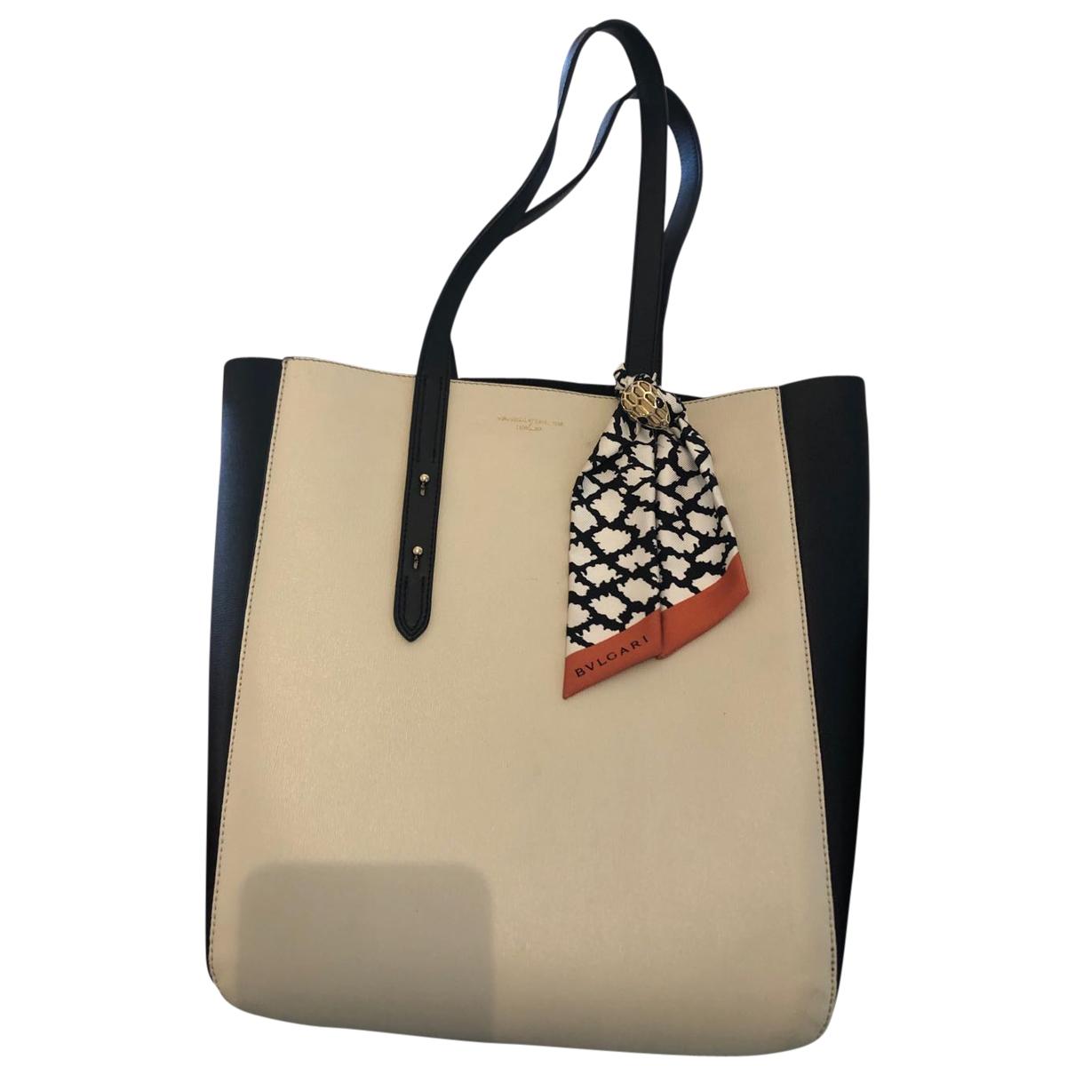 Aspinal Of London \N Handtasche in  Beige Leder
