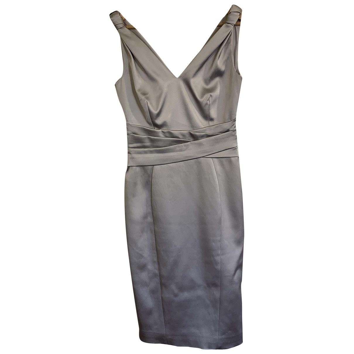 Karen Millen \N Silver dress for Women 38 IT
