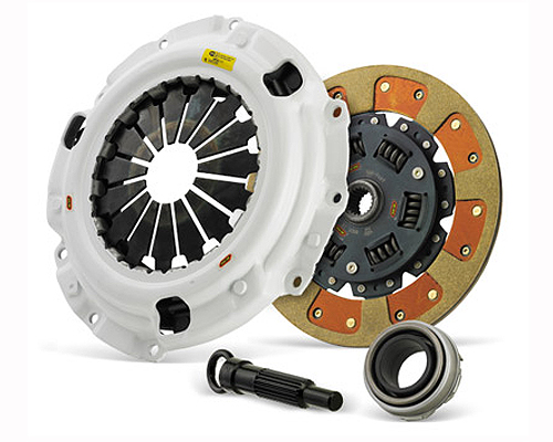Clutch Masters 03049-HDFF-R FX350 HD Sprung Fiber Tough Lined Rigid Disc BMW 525I 2.5L E39 5-Speed 01-03