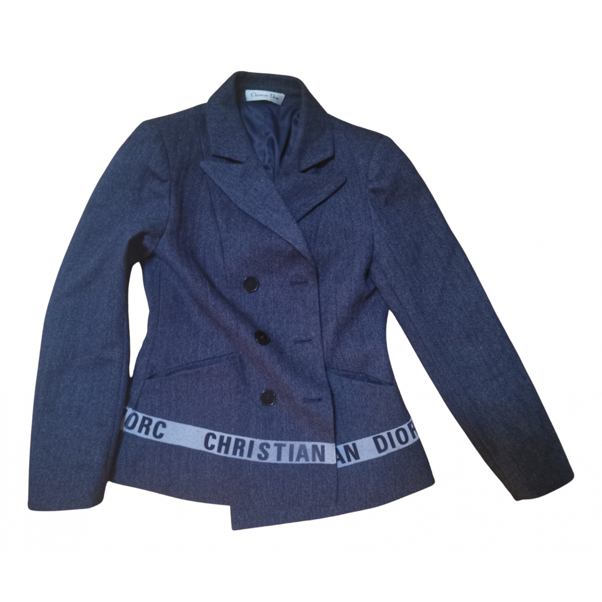 Christian Dior - Veste   pour femme en laine - multicolore