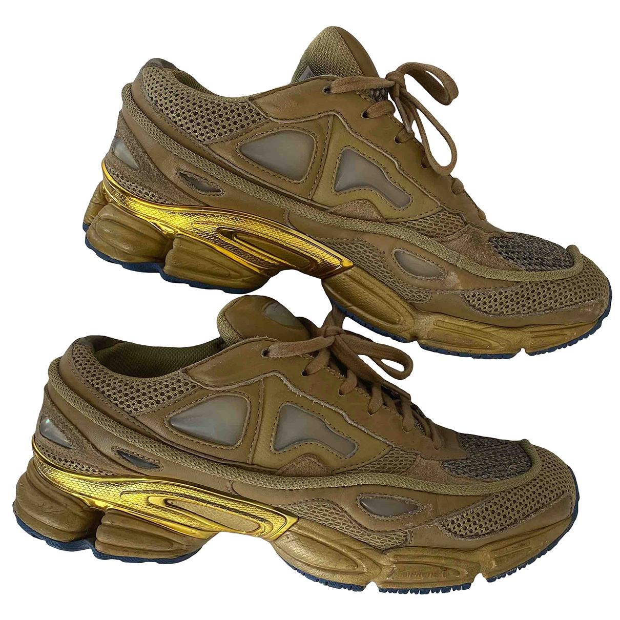 Raf Simons \N Sneakers in  Gold Leder