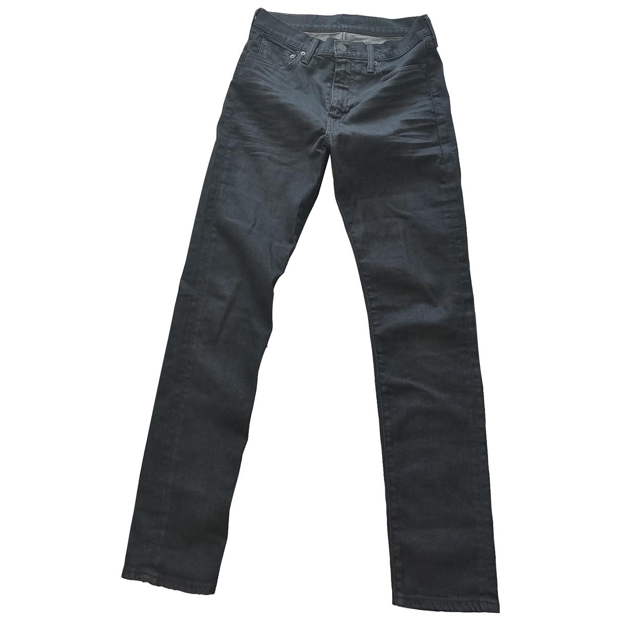 Levi's \N Grey Cotton Jeans for Men 30 US