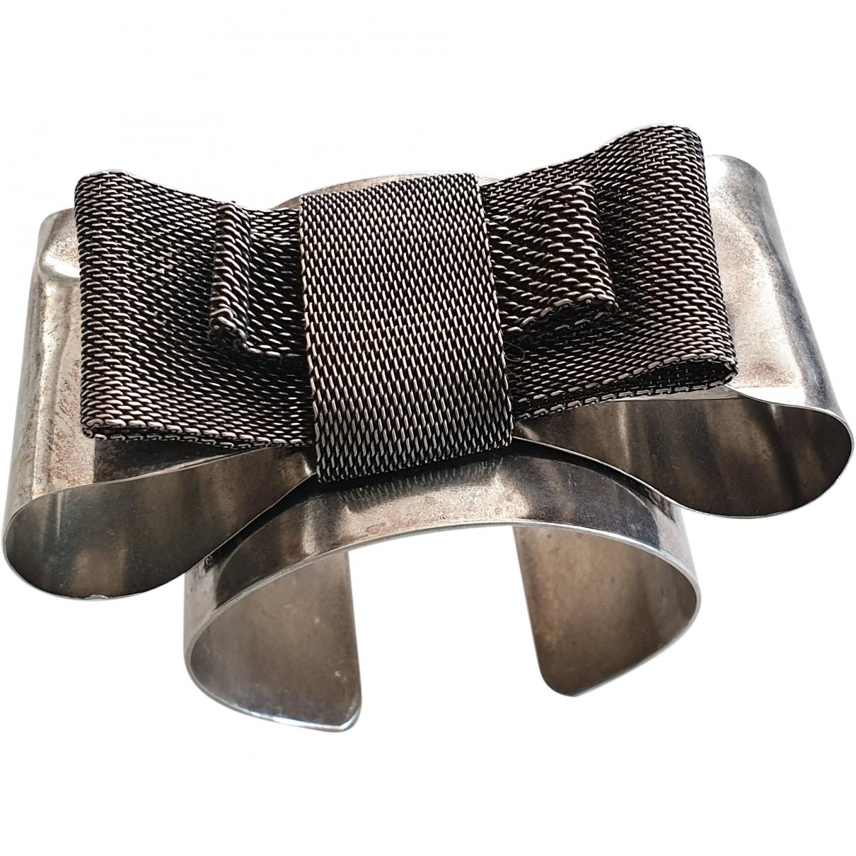 Paule Ka - Bracelet   pour femme en acier - gris