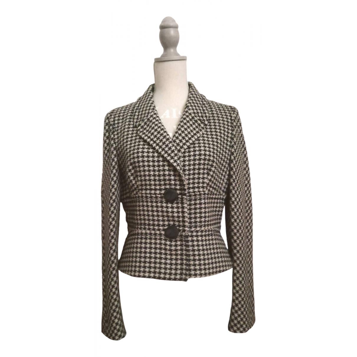 Max Mara - Veste   pour femme en laine - beige