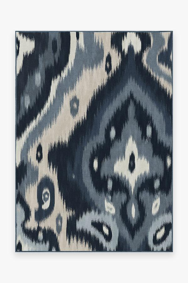 Washable Rug Cover | Endah Blue Rug | Stain-Resistant | Ruggable | 5x7