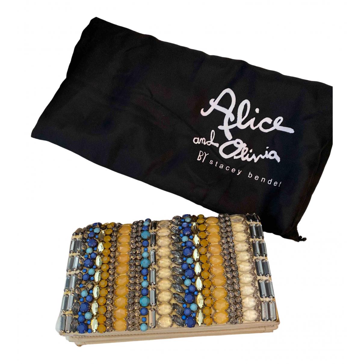 Alice & Olivia \N Clutch in  Bunt Mit Pailletten