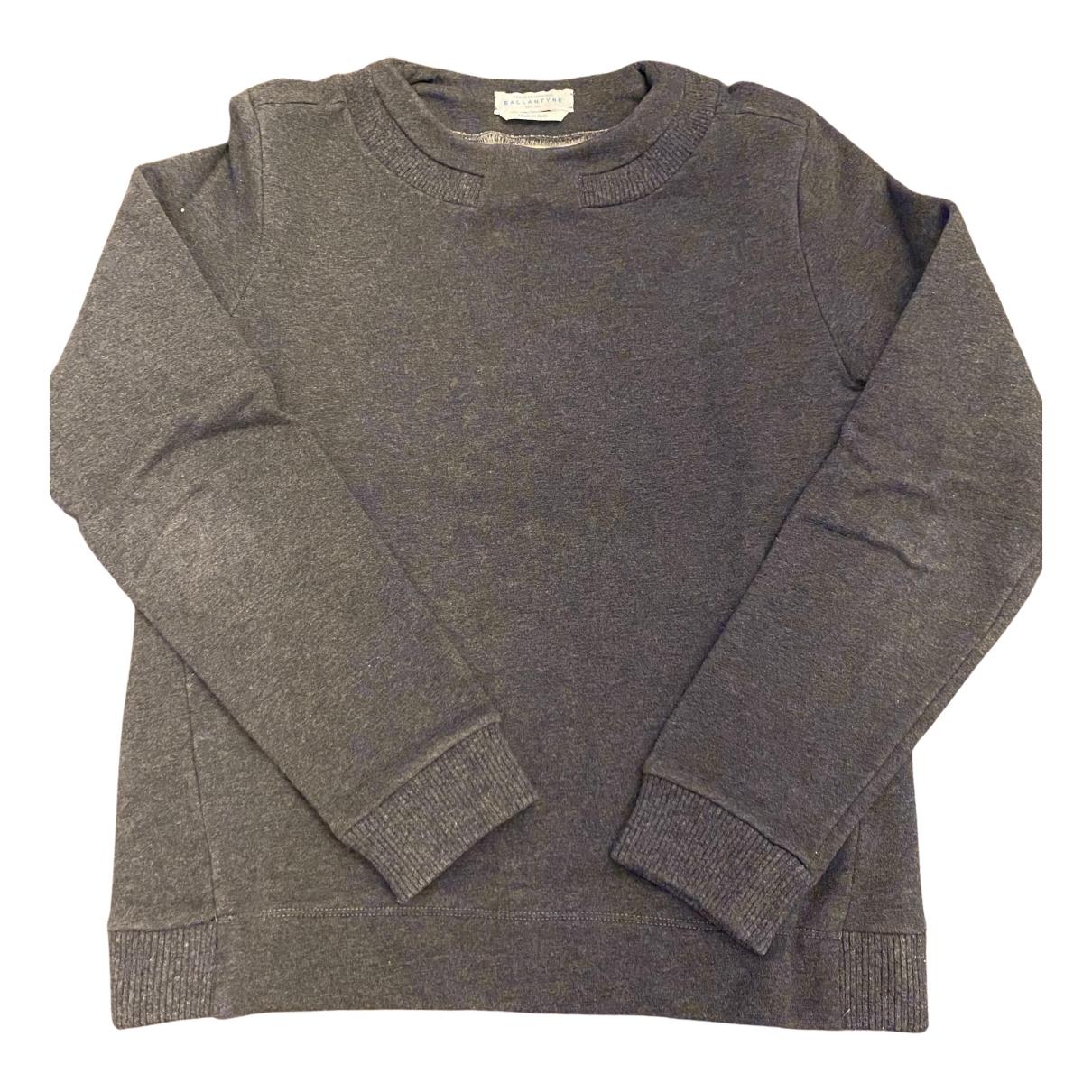 Ballantyne - Pull   pour femme en coton - gris