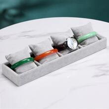 1 pieza caja de joya con 4 piezas almohada