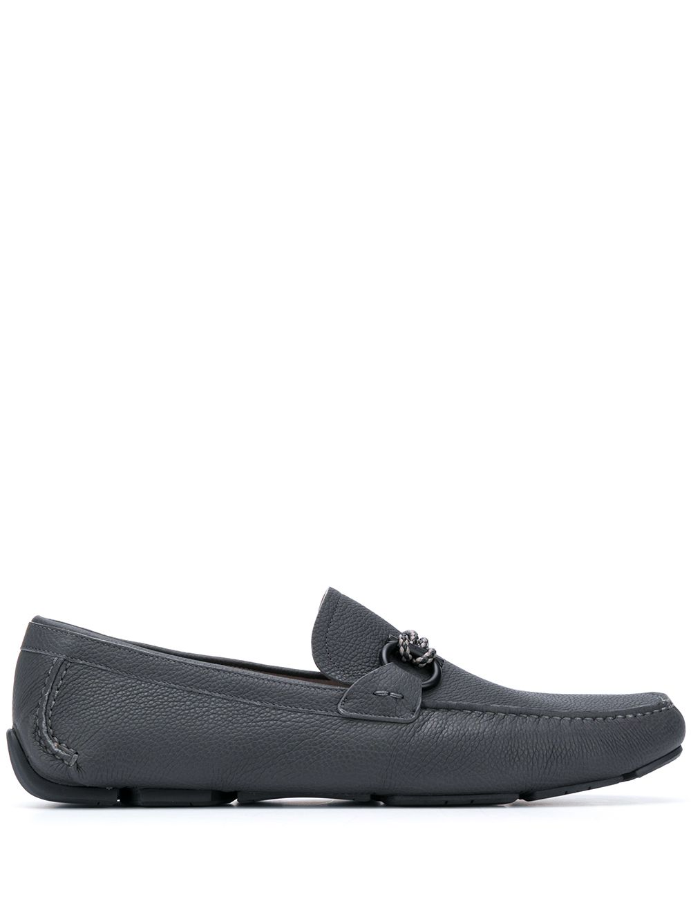 Front Leather Loafer