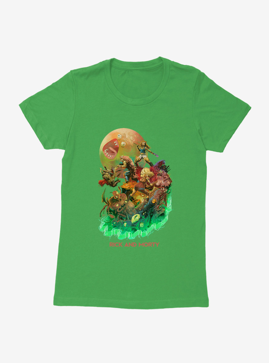 Rick And Morty It Stinks Of Rick Womens T-Shirt