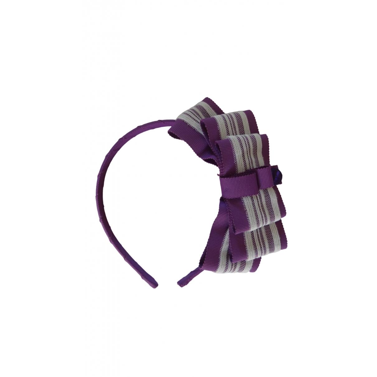 Dior - Bijoux de tete   pour femme en toile - violet