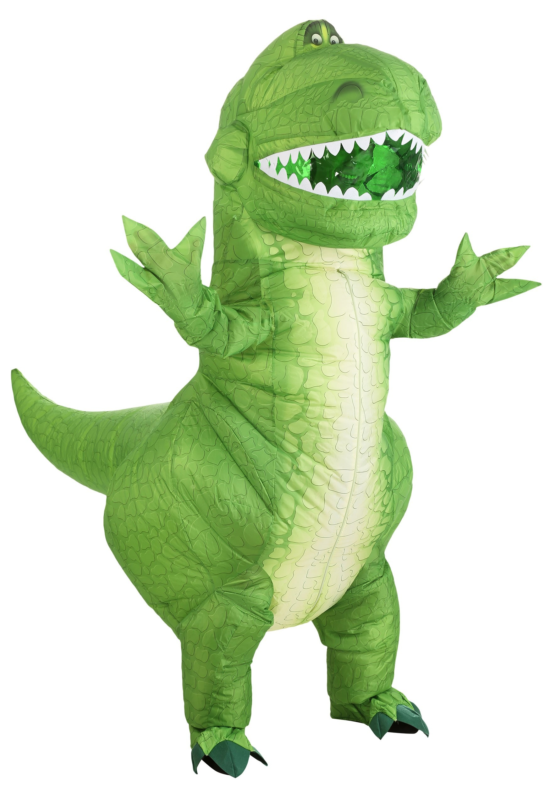 Toy Story Rex Inflatable Costume for Adults