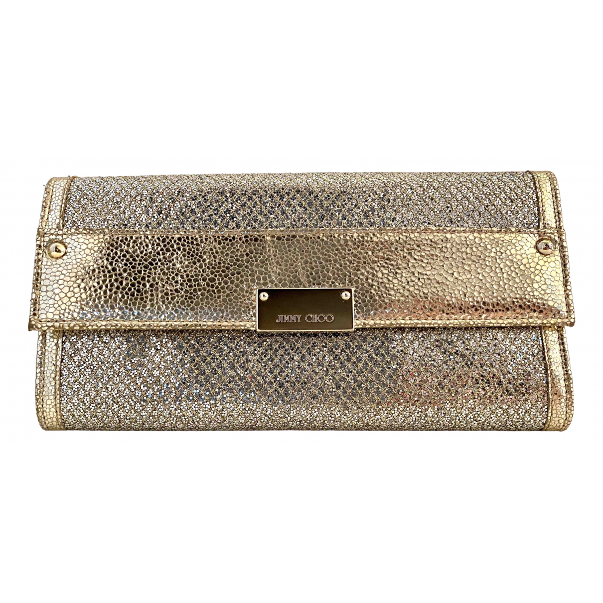 Jimmy Choo \N Gold Leather Purses, wallet & cases for Women \N