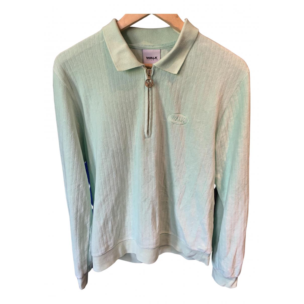 Non Signé / Unsigned N Green Cotton Knitwear & Sweatshirts for Men M International