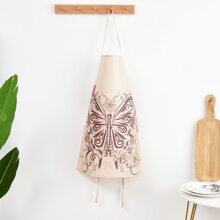 Butterfly Print Apron