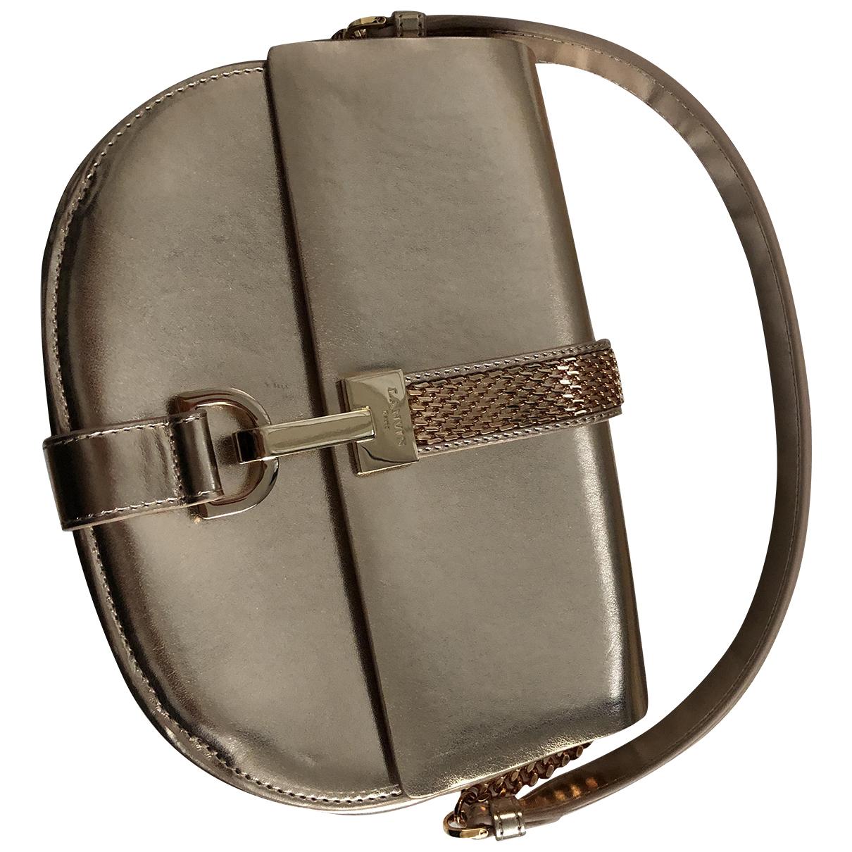 Lanvin N Gold Leather handbag for Women N