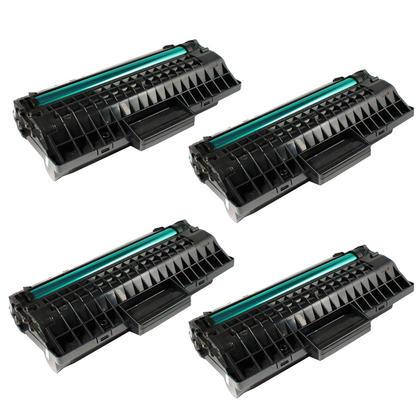 Compatible Samsung MLT-D109S Black Toner Cartridge - Economical Box - 4/Pack