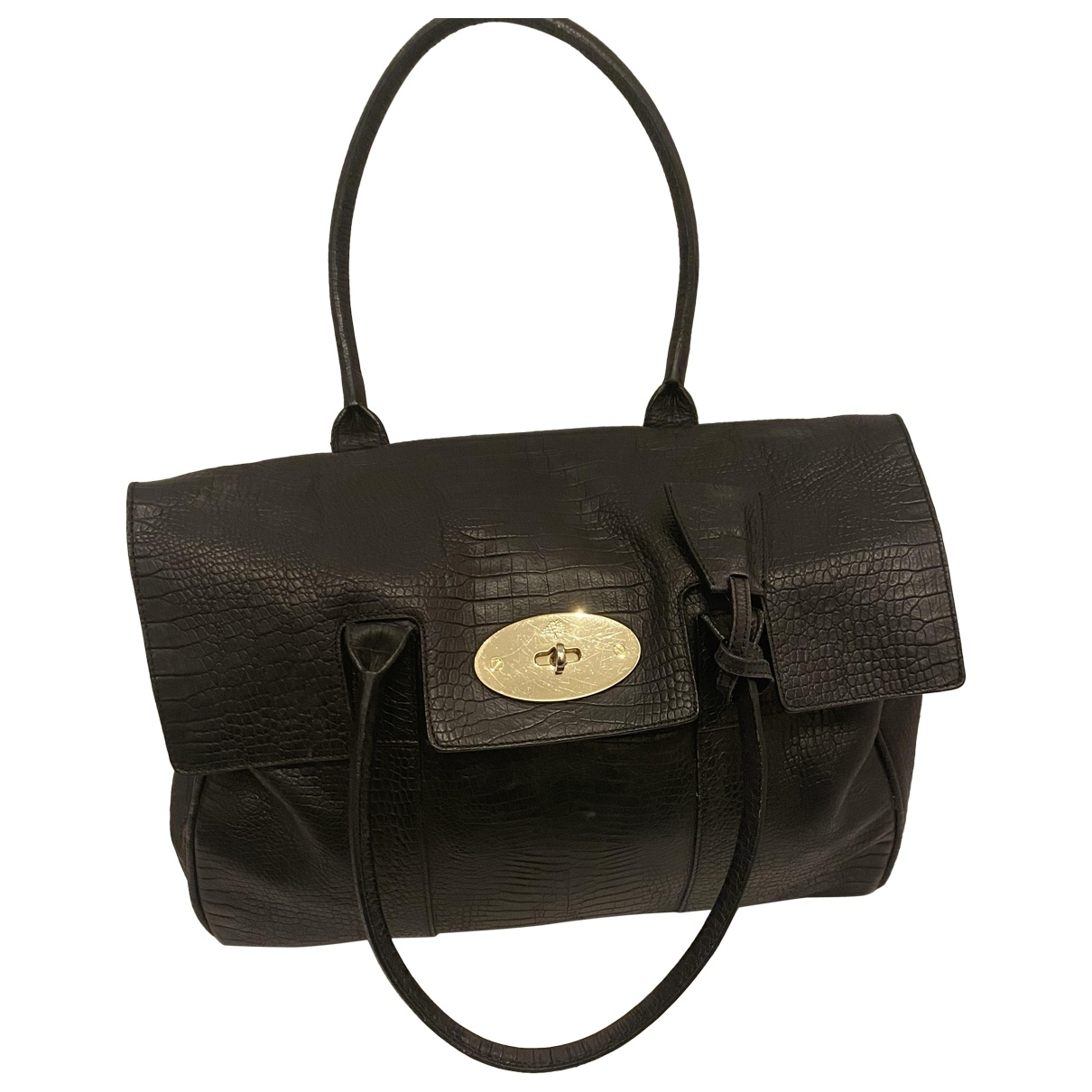 Mulberry Bayswater Black Leather handbag for Women \N