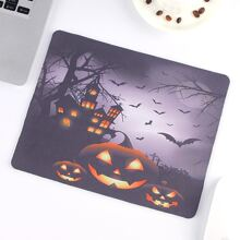 Halloween Pumpkin Pattern Mouse Pad