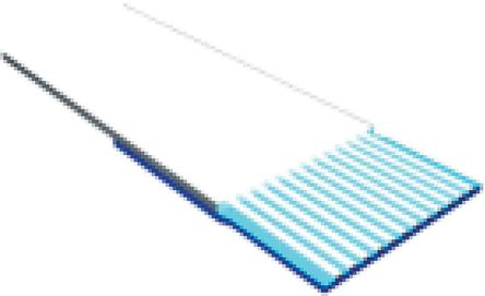 Samtec 50 Way Flat Ribbon Cable, 4 mm Width, Series FJH