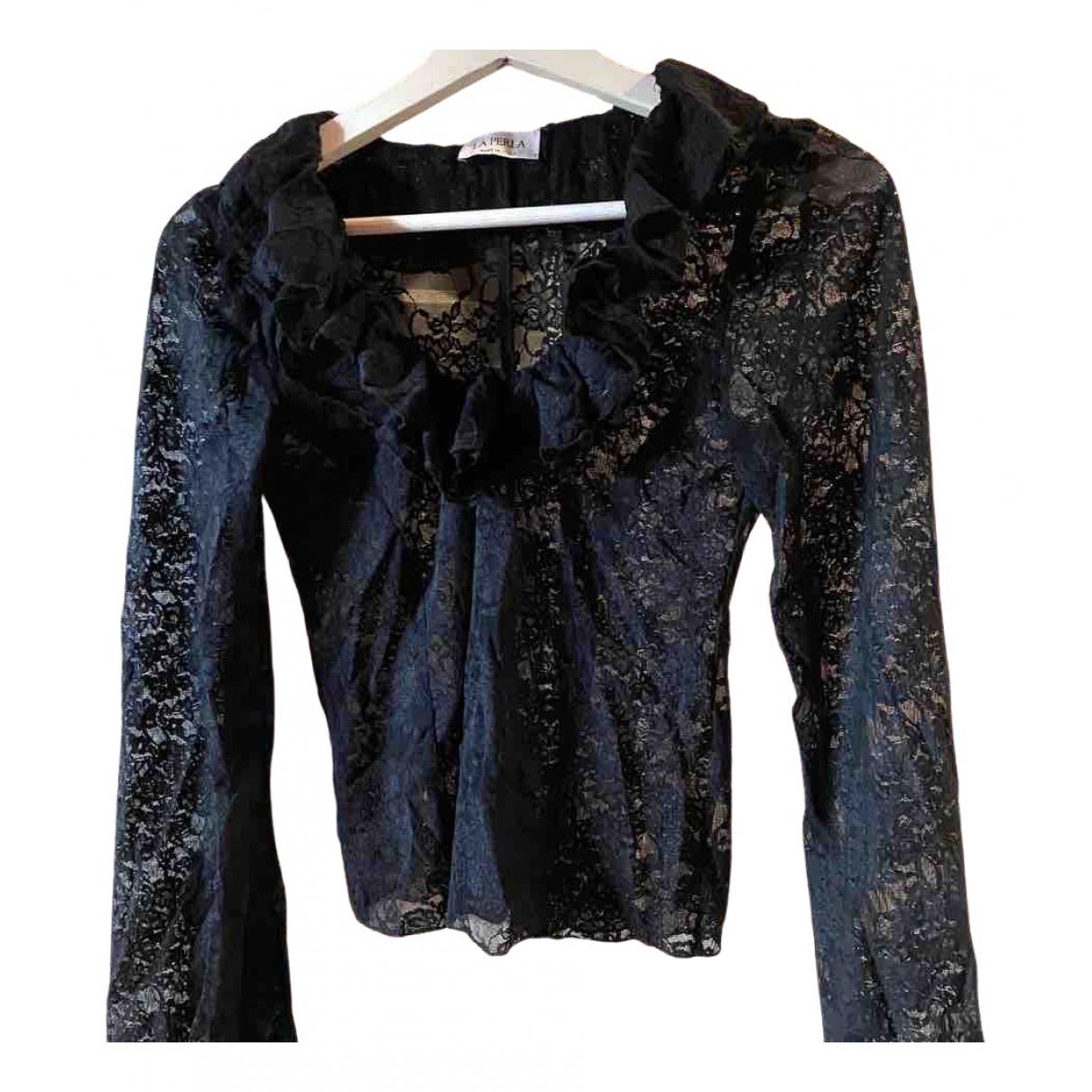 La Perla \N Black Lace  top for Women 38 IT