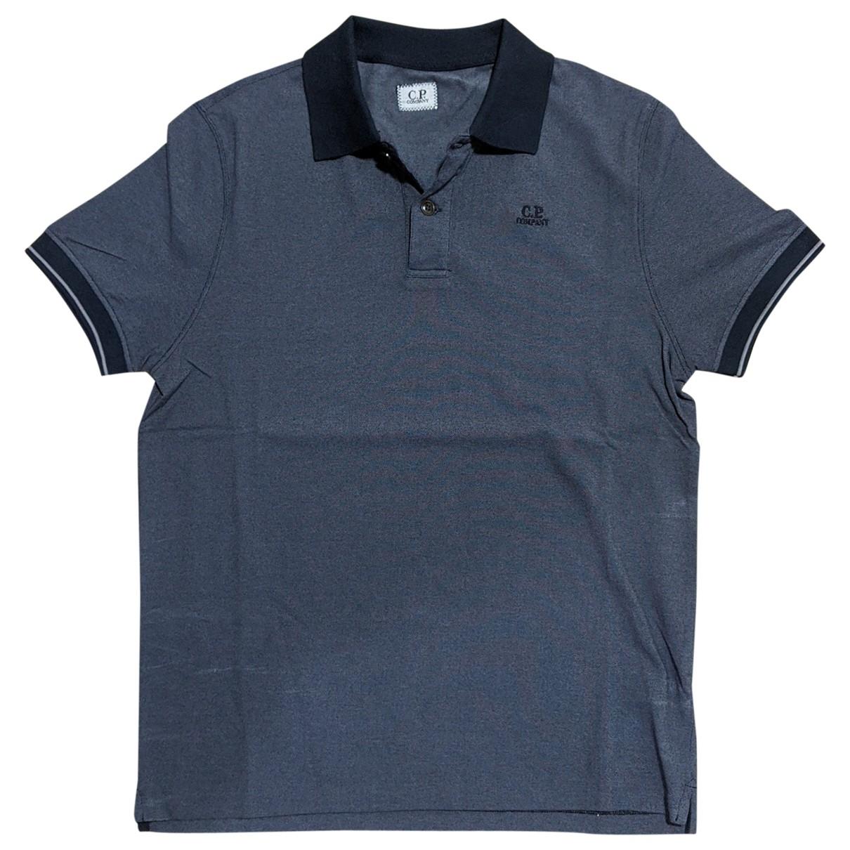Cp Company - Polos   pour homme en coton - bleu