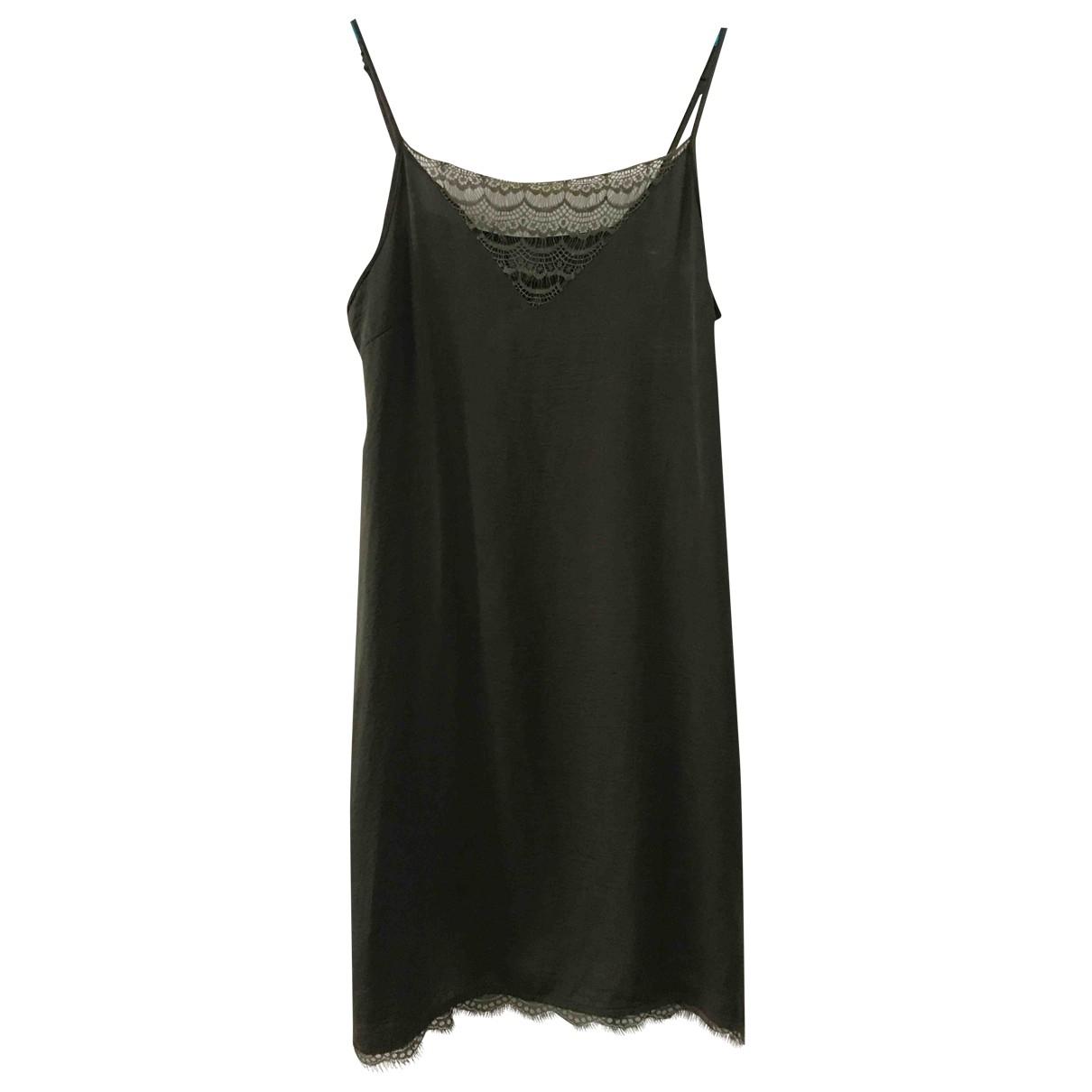 Ichi \N Kleid in  Khaki Polyester