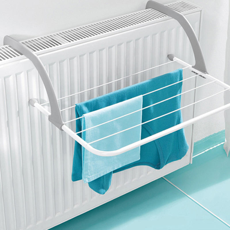 Multifunction Foldable Outdoor Clothes Drying Rack Bathroom Windowsill Sunderies Stand