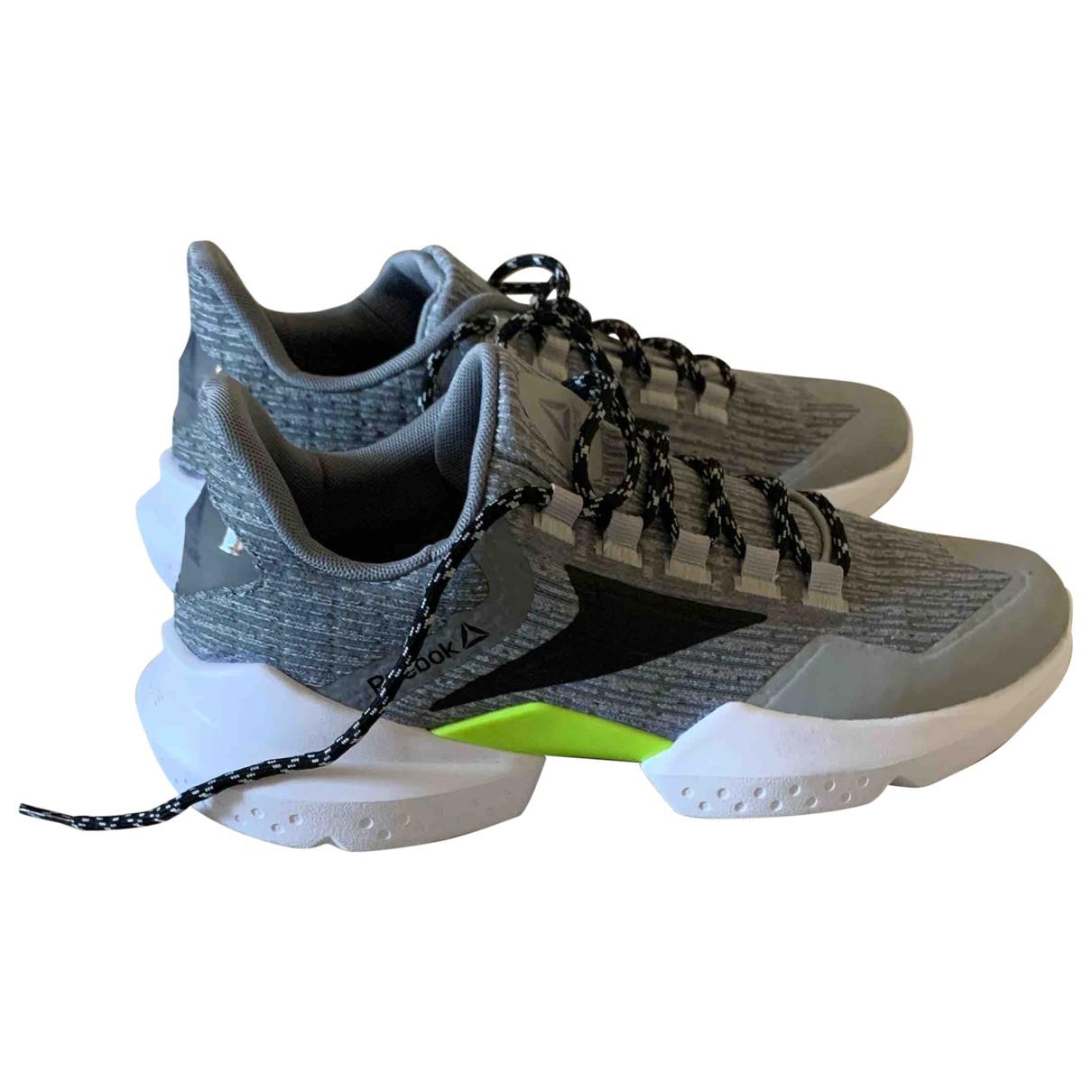 Reebok \N Grey Cloth Trainers for Women 40.5 EU