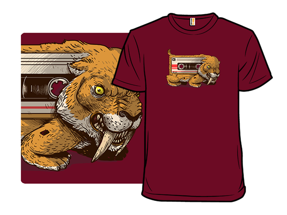 Sabertooth Cassette T Shirt