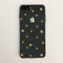 Funda de iphone con patron de estrella