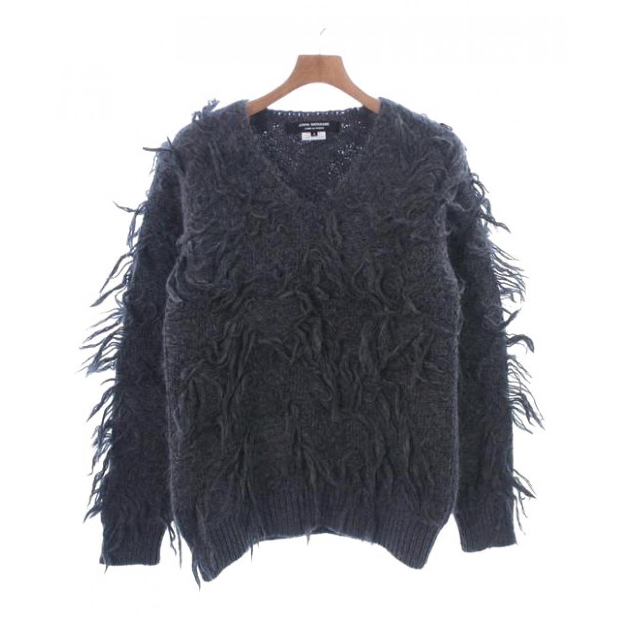 Comme Des Garcons N Grey Wool Knitwear for Women S International