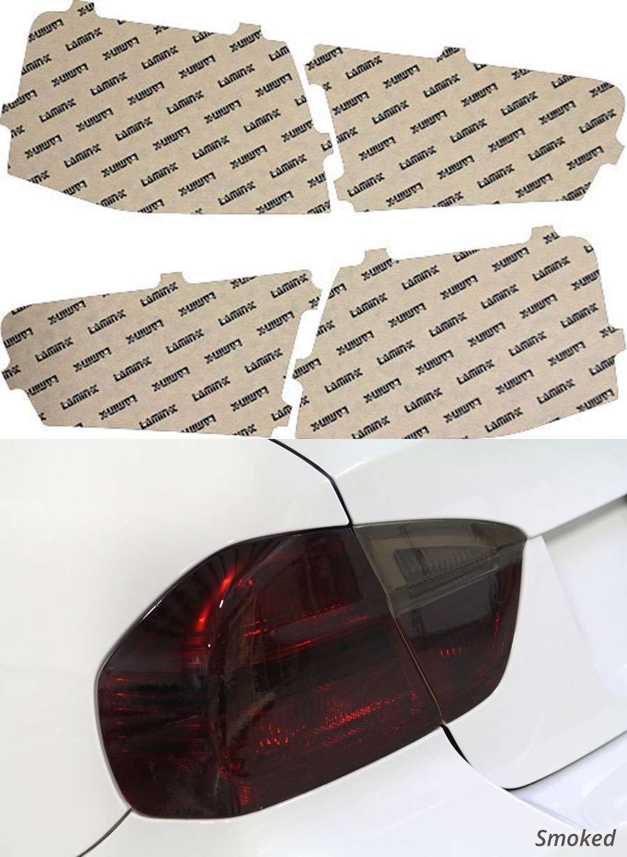 Audi S6 13-15 Smoked Tail Light Covers Lamin-X A236S