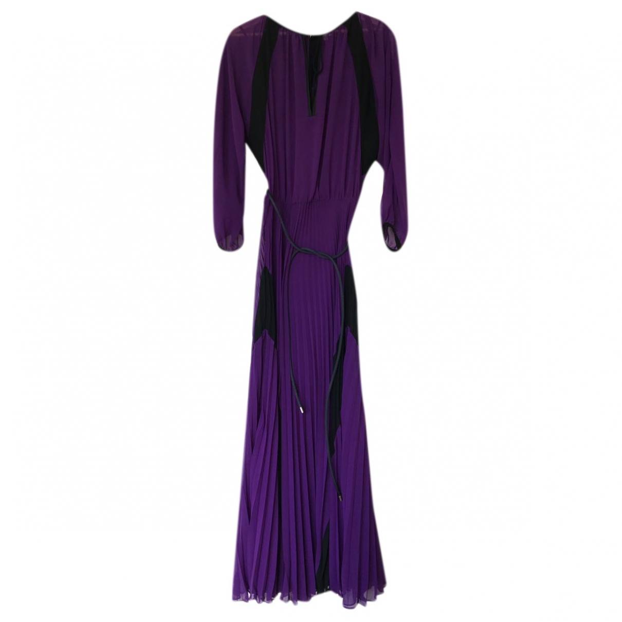 Jean Paul Gaultier \N Purple Silk dress for Women 34 FR