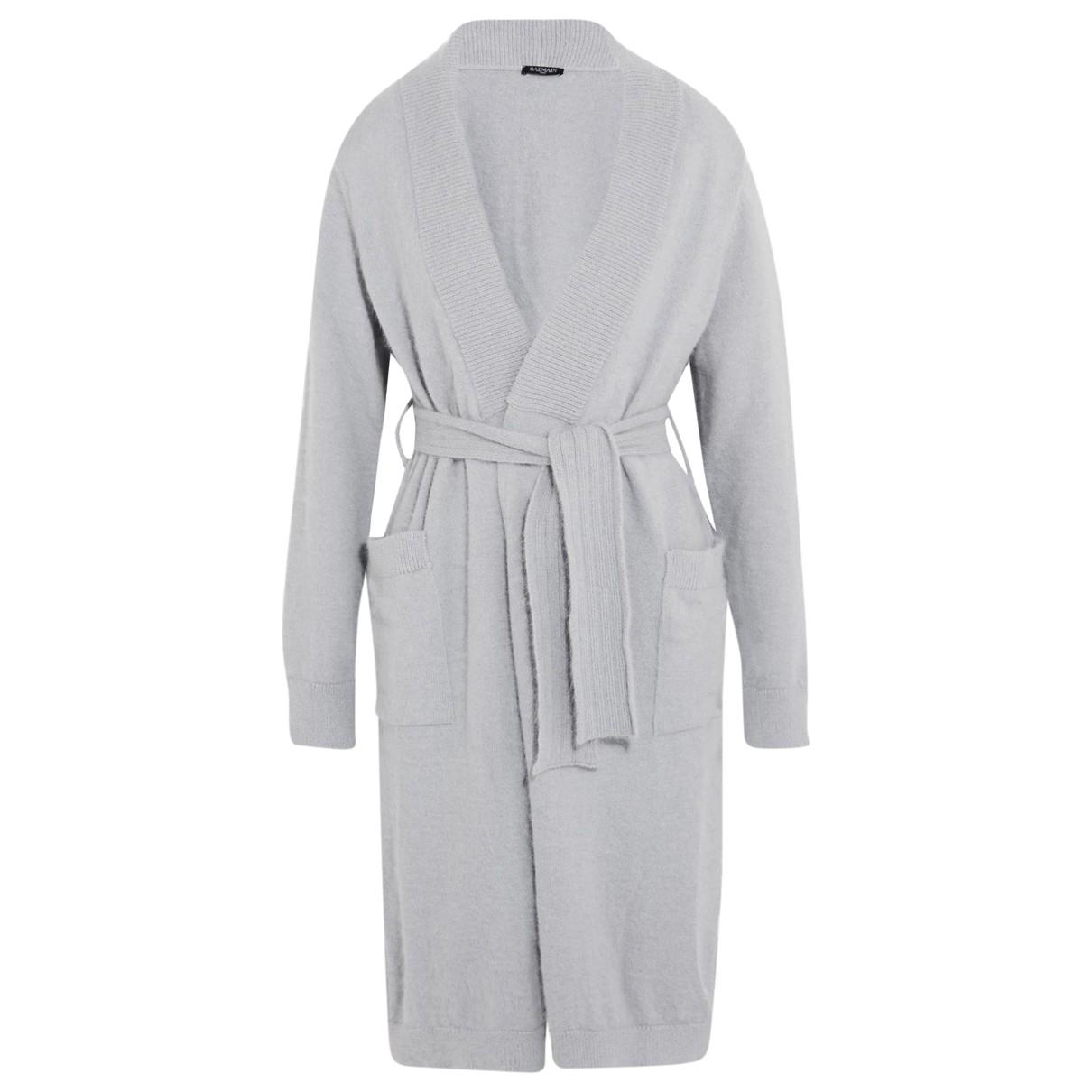 Balmain - Pull   pour femme en laine - gris