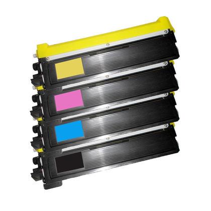 Compatible Brother TN210 Toner Cartridge Combo BK/C/M/Y - Economical Box
