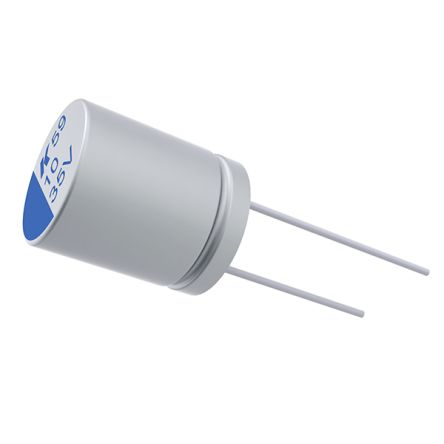 KEMET 10μF Electrolytic Capacitor 160V dc, Through Hole - A759KS106M2CAAE110 (500)