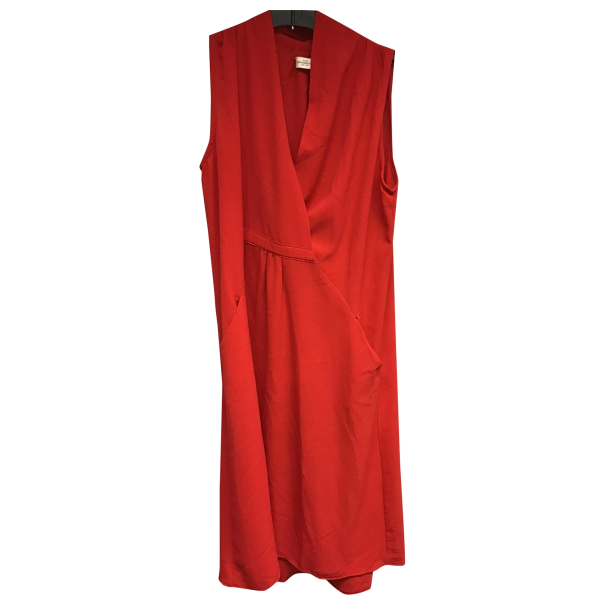 Abercrombie & Fitch - Robe   pour femme - rouge