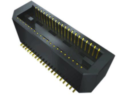 Samtec , BTE, 40 Way, 2 Row, Straight PCB Header (425)