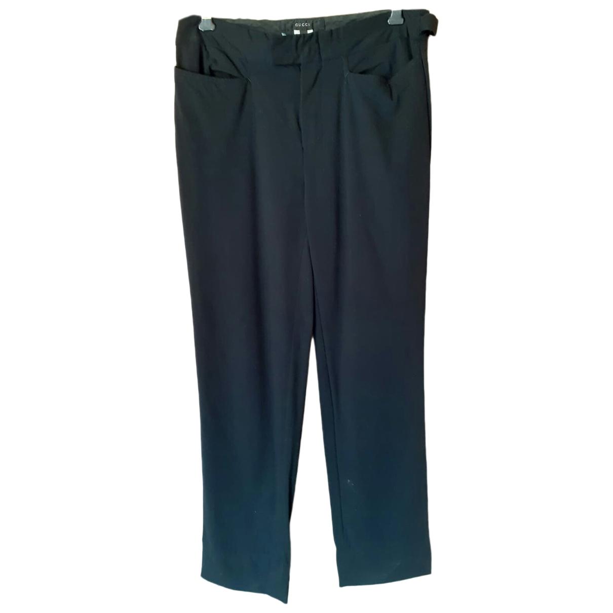 Gucci \N Black Trousers for Women 42 IT