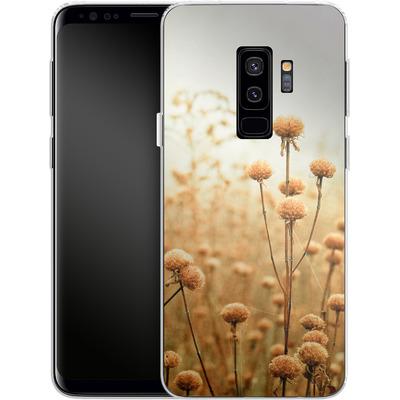 Samsung Galaxy S9 Plus Silikon Handyhuelle - Daybreak In The Meadow von Joy StClaire