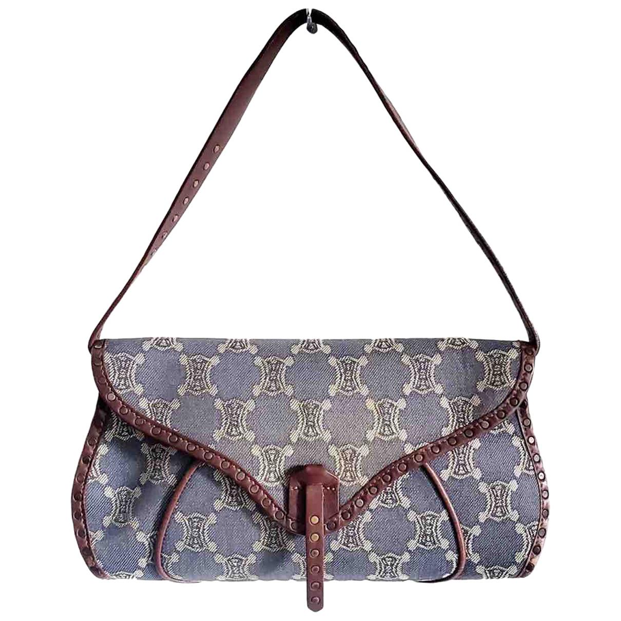 Celine N Blue Denim - Jeans handbag for Women N