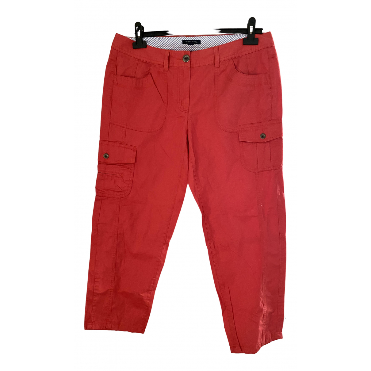 Tommy Hilfiger \N Cotton Trousers for Women 46 IT
