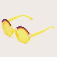 Kinder Sonnenbrille mit rundem Rahmen