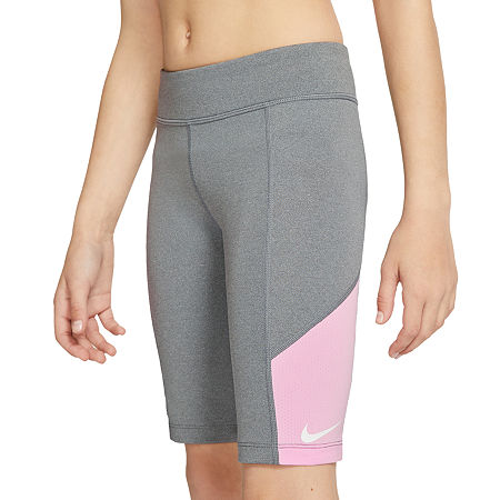 Nike Big Girls Bike Short, X-large , Gray